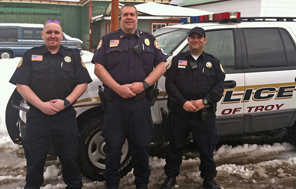 City of Troy Police Department Officers