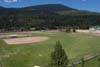 Baseball field at Roosevelt Park in Troy Montana